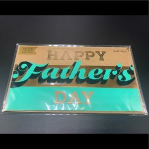 ⚡️5/$30⚡️Papyrus blank Father's Day card